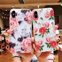 For Samsung Galaxy J2 Pro J5 J7 Prime J4 J6 2018 3D Rose Peony Women