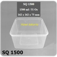 Thinwall food container microwave-able 1500 ml