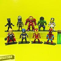 Figure Avengers Kids Logic Set Isi 9 Terbaru