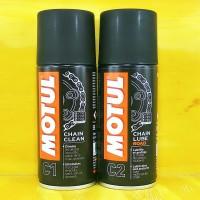 Motul Chain Maintenance Kit Chain Clean & Chain Lube