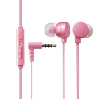 Elecom In-Ear Type Stereo Headset for Smartphone 9.0.mm Driver-Pink 3