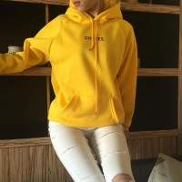 HOODIE JUMPER OH,YES YELLOW