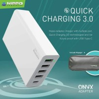 Hippo Onyx Adapter Quick Charging 3.0 Value Pack