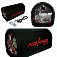 BEST SOUND Speaker subwoofer Advance T101 KF Ac Dc Bass Power Garansi