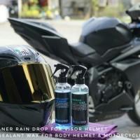 Paket Motor & Helmet care | Contrast wax Feat Winshield repellent coat