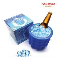 New Silicone Ice Bucket Irdle Ice Cube Maker Genie Silicone