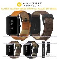 CLASSIC LEATHER PU SERIES Strap Xiaomi Amazfit BIP Hanya Gelang 20MM