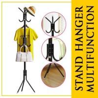 Stand Hanger Multifunction Gantungan Tiang Berdiri Baju Tas Topi