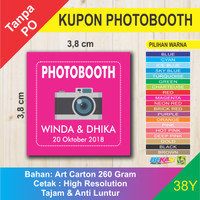 Kupon Photobooth Photo / Foto Booth Pernikahan 38Y