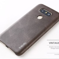 X-Level Vintage Lg G5 Se Dual Leather Back Cover Casing Soft Case Hp