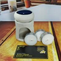Tungku Aromaterapi / Burner Aromatheraphy Kutus Kutus