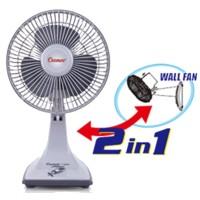 Harga kipas angin meja dinding cosmos 7 inch desk fan wall fan 7 | antitipu.com
