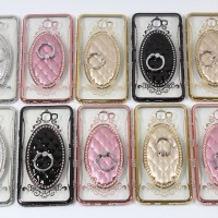 Super Murah Samsung J7 Case Diamond Iring Silicone Hp Princess Terbaru