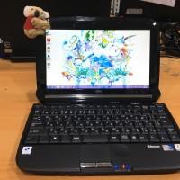 Laptop bekas murah Netbook Fujitsu G30 ATOM HDD 250GB RAM 2g mulus