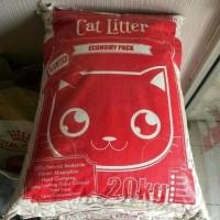 BEST SELLER PASIR WANGI GUMPAL CUB N KIT CAT LITTER 20KG GO-SEND