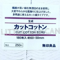 BEST SELLER KAPAS ORGANIC MUJI/ JAPANESE VAPE COTTON 180PADS 100%