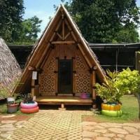 62+ Gambar Rumah Gedek Bambu Terbaru