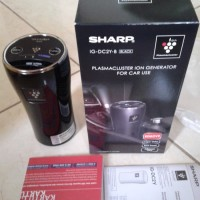 SHARP Ion Plasmacluster Air Purifier for Car / Penyaring Udara Mobil