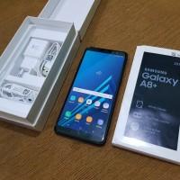Samsung A8 Plus ram 6 Fullset Garansi resmi Sein Second
