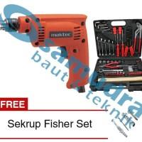 Harga termurah maktec mt 60 bor listrik bolak balik tool kit kenmast   Pembandingharga.com
