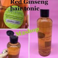 Harga full promo red ginseng hair tonic bpom | Pembandingharga.com