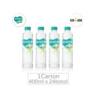 Pristine 8+ 400ml 1carton 24botol Air Mineral Alkaline Khusus Gojek