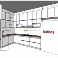 Big Promo Tambahan Proyek Kitchen Set Cilegon