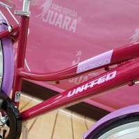 promo SEPEDA CITYBIKE UNITED TC 3650 PINK CTB 26 INCH ALLOY FRAME