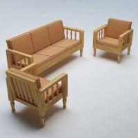 Kursi sofa tamu set kayu ukir minimalis murah