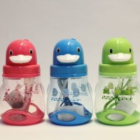 Botol Minum Anak Animal Bebek-Children bottle H6026 fuchia
