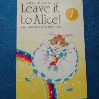 Komik Set Tamat: Leave It To Alice! by Arai Kiyoko