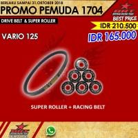 Paket Super Roller & V Belt BRT Honda Vario 125 PGMFi