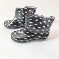 Sepatu boots anak import / boot / hujan / polkadot / army / loreng 267