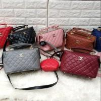 Promo Murah Tas Wanita Branded Chanel Doctor Handbag Slingbag Terbaru