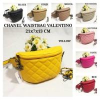 Tas Wanita Import Chanel Waistbag Valentino Super Tas Pinggang Murah