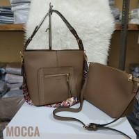 Tas Wanita Fossil Murah 2 in 1 PU Leather Limited Edition Terbaru
