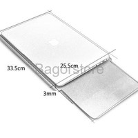 BGR 057 Leather Sleeve Case for Macbook Pro dan Macbook Air 13 In