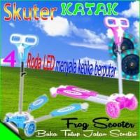 Mainan Anak Sepeda Skuter Katak 4 Roda Frog Scooter Murah