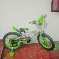 BARU Sepeda anak Roda Empat exotic hijau only gojek