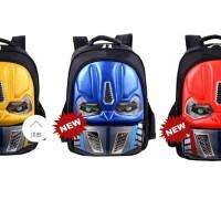 NEW Tas TK Mata LAMPU ROBOT Transformers Ransel Anak Sekolah TK Import