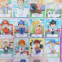 poster edukasi anak poster pengenalan profesi pekerjaan