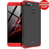 Xiaomi Redmi 6 Armor 360 Full Cover Baby Skin Hard Case Kombinasi1461