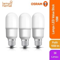 Lampu LED Value Stick 75 Osram 10 Watt - 3 Each - Puth