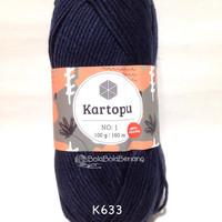 Kartopu No.1 K633 - Benang Rajut Import