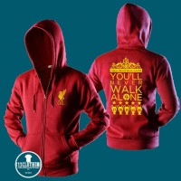 Jaket Hoodie Zipper Liverpool Youll Never Walk Alone 02 - 313 Clothing