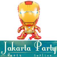Balon Foil Iron Man JUMBO / Balon Karakter Iron Man - Jakarta Party