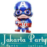 Balon Foil Captain Amerika Jumbo / Balon Karakter Captain Amerika