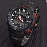 Jam tangan digitec original pria digitec 2083 black list red 2be2a3961c