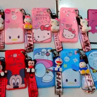 Case Xiaomi Redmi 5X arakter Disney Land + Gantungan 4D Stand Hp