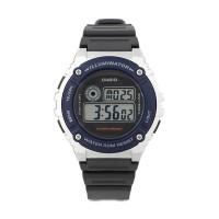 Jam Tangan Casio Illuminator Chronograph Alarm W-216H-2A